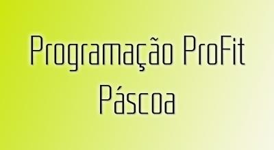 Programação período da Páscoa