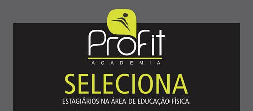 PROFIT Academia seleciona estagiários na área de Educação Física